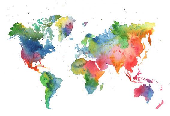 planisferio colores